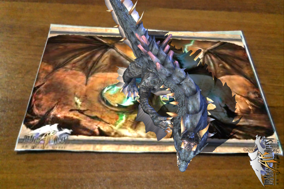 Screenshot AR Dragon